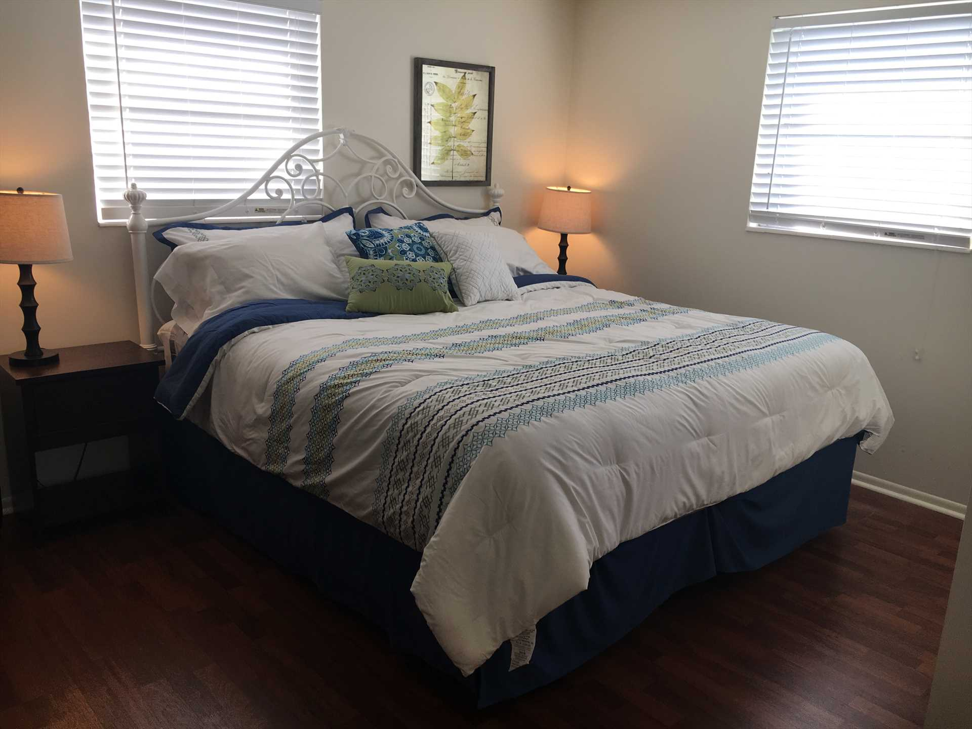 Brand new king bed!