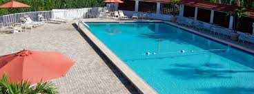 Our sparkling heated pool