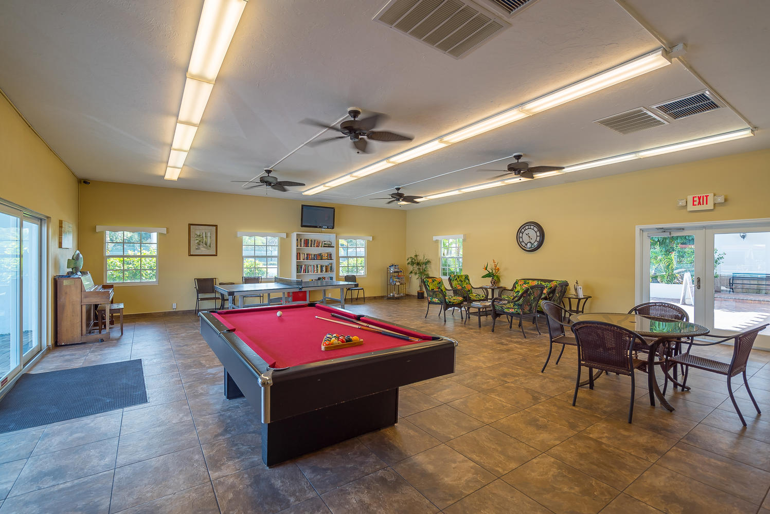 Communal recreation room
